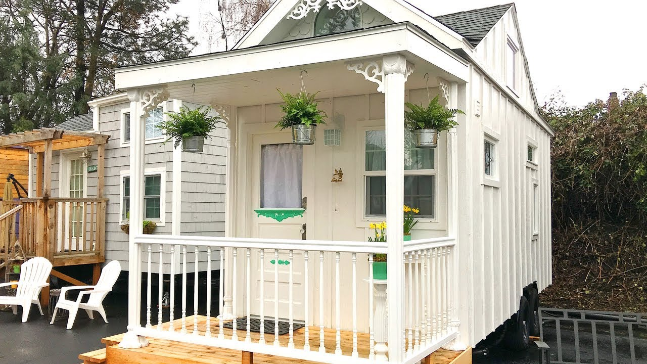 Beautiful Modern The White Cottage Tiny House Lovely