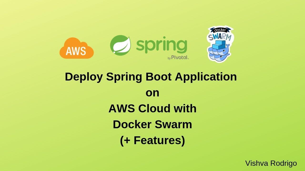 Deploy Spring Boot Application on Docker Swarm