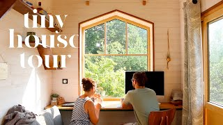 Tiny House Tour : Visite De Notre Mini-maison Baluchon !