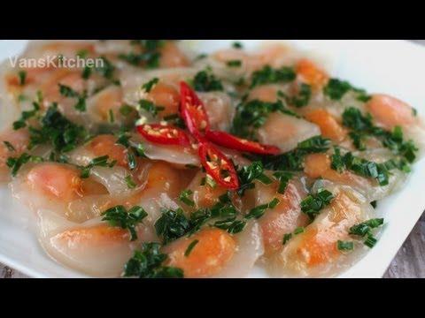 Banh Bot Loc Tran (Vietnamese Tapioca Dumplings)