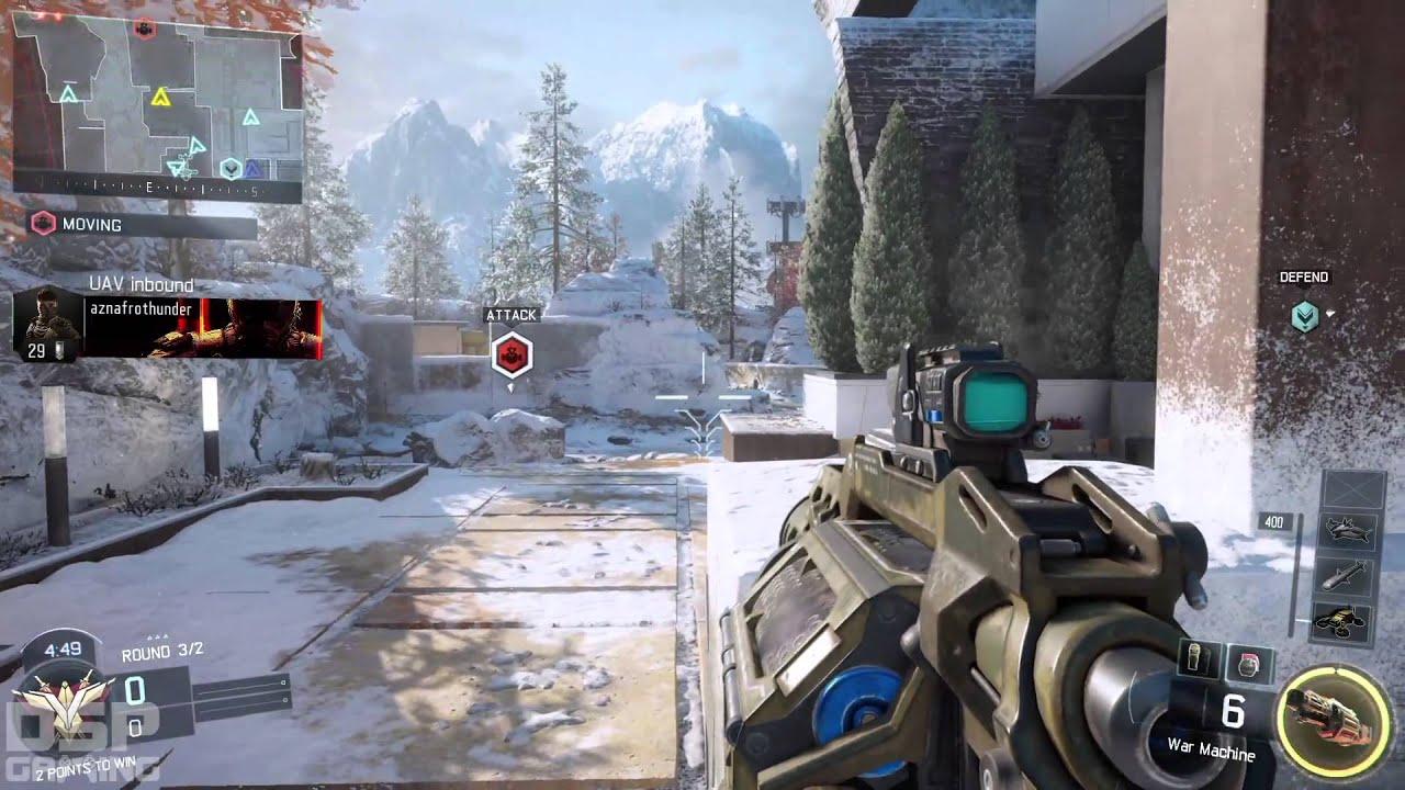 cod black ops iii beta gameplay pt  new map snow back to battery. cod black ops iii beta gameplay pt  new map snow back to