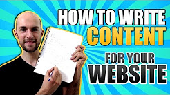 How To Write Content For Website - How To Write Website Content With Good SEO