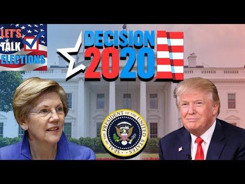 Elizabeth Warren vs Donald Trump | 2020 Election Prediction