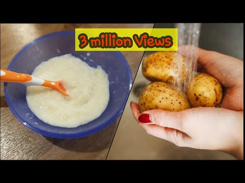 Mashed potato for babies