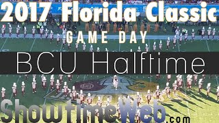 """Bethune Cookman """"Marching Wildcats"""" Halftime - 2017 FL Classic Game"""