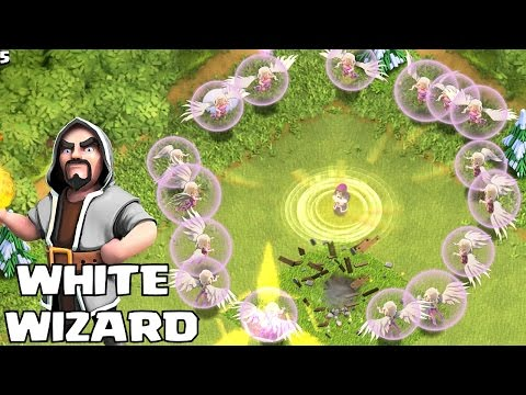 Clash Of Clans - THE IMMORTAL WHITE WIZARD!!! (Troll Bros Clan War!!)