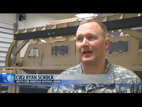 Montana National Guard troops prep for overseas deployment