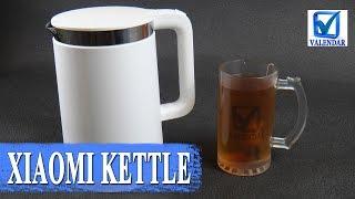 Обзор Xiaomi Mi Kettle умный чайник с функцией термоса