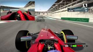 [F1 2012 Codemasters] Scuderia Ferrari F2012 @Yas Marina, Abu Dhabi (Test Day) [HD]