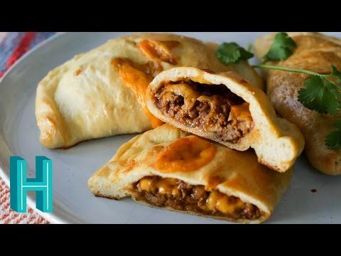 Homemade Hot Pockets: TACO Pockets! Hilah Cooking