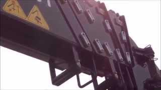 Тросовый кран Hiab 160T на базе Daewoo Novus 15t 420ps