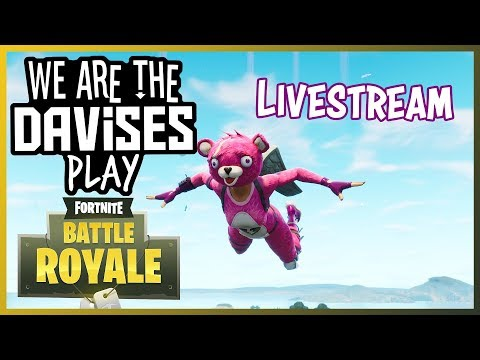 Monday Fortnite Duos with Tyler and Shawn Part 2  We Are The Davises  Stream Gaming