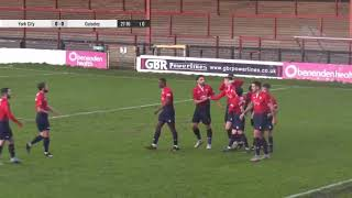 The last ever goal at Bootham Crescent