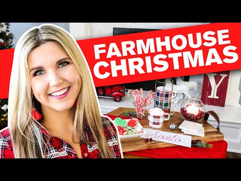 Farmhouse Decorate with me for Christmas 2019🎄 Christmas Decorations Ideas
