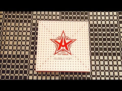 Unboxing | Hyuna 1st Mini Album - Bubble Pop