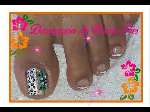 Diseño De Uñas Pies Hermosanail Design Feet Beautiful Action
