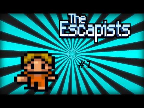 I GOT INTO SOLITARY!!!//Escapists//#1