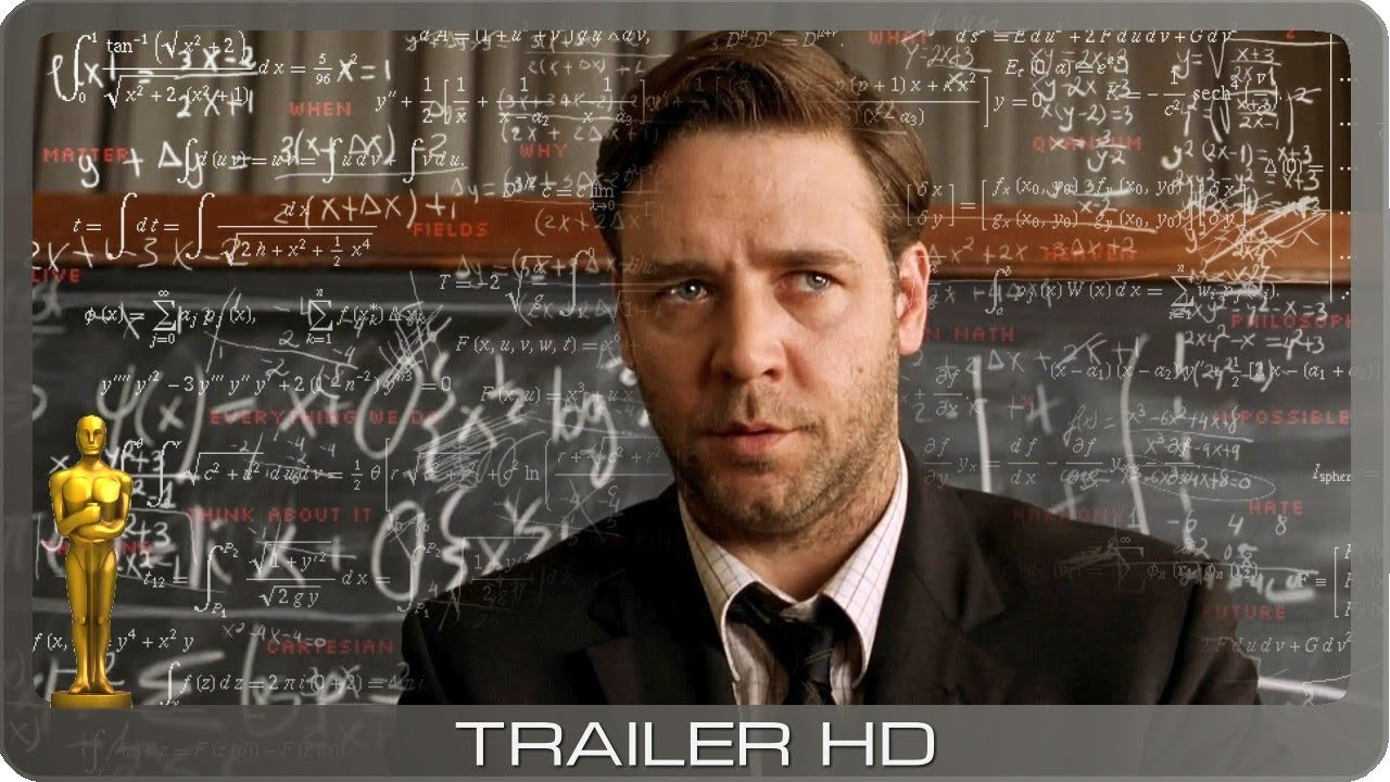 A Beautiful Mind - Genie und Wahnsinn ≣ 2001 ≣ Trailer