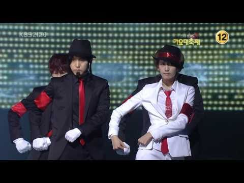 Super Junior SNSD SHINee - Smooth Criminal 3/4 09 Gayo Fest.K Dec30.2009 GIRLS' GENERATION 720o HD