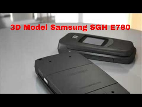 3D Model Samsung SGH E780