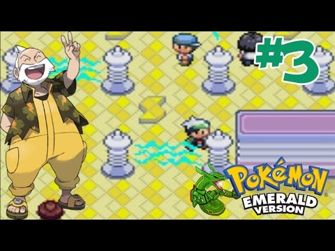 "Pokemon - Emerald #3 ลุยยิม สายฟ้า ""เทสเซ็น"""