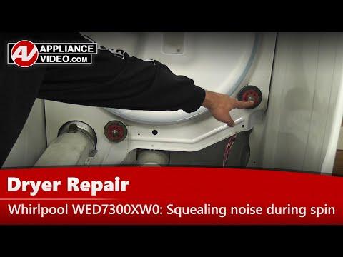 dryer-drum-rollers-issues---whirlpool,-kenmore-&-maytag---repair-&-diagnostic