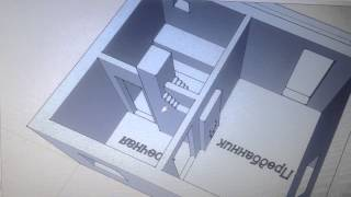 видео Баня из бруса 3 на 3: проекты и чертежи как построить