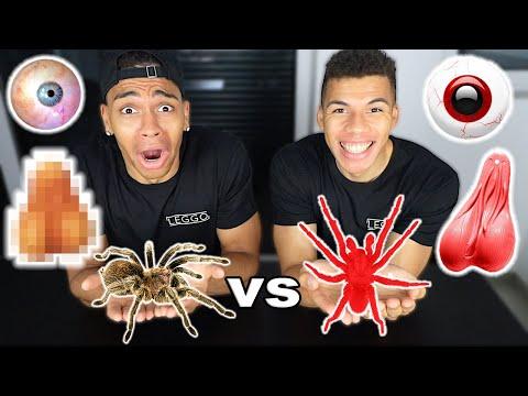 GUMMI ESSEN vs ECHTES ESSEN XXL !!! | PrankBrosTV