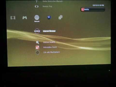 how to watch videos online on ps3