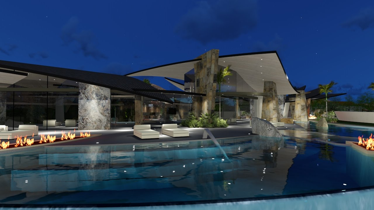 Sylvester Stallone's house by Brian Foster Designs - Modern Contemporary Architecture