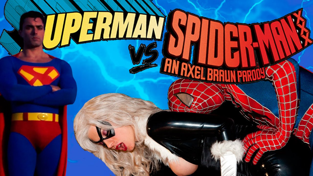 Порно пародия на фильм супермен против человека паука фото 649-85