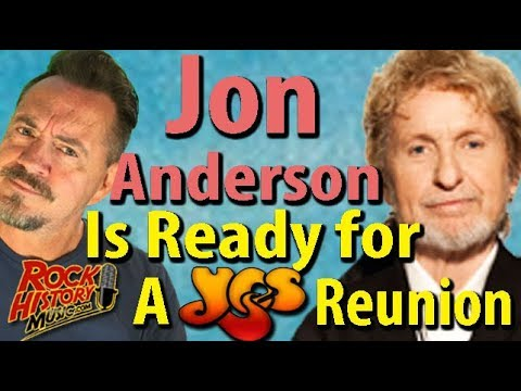 Jon Anderson Has Eight New Songs For A Final Yes Reunion Album