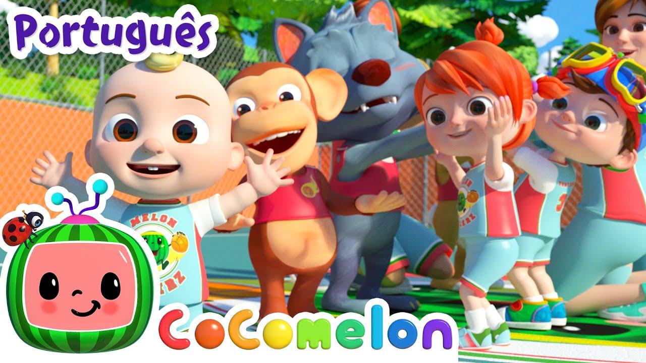CoComelon em Português   Canção do basquete   Músicas Infantis   Desenhos Animados