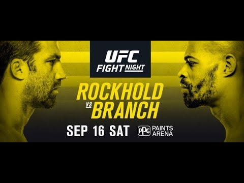 UFC Fight Night 116 Rockhold v Branch Fight Predictions
