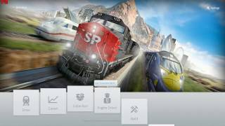 Train Simulator 2014 gameplay on Low End PC | Core2Duo E8400, 4GB RAM, Radeon HD5870