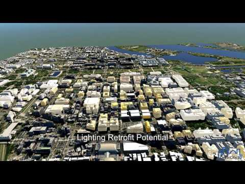 Autodesk InfraWorks 360 Energy Modeling with CyberCity 3D Buildings