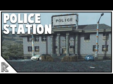 The Police Station! - Solo 7 Days to Die #13 (7 Days to Die Alpha 15)