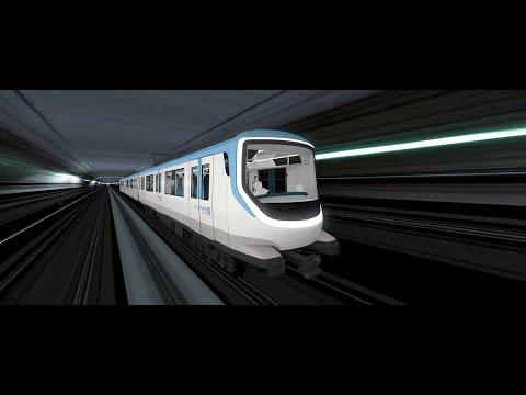 Premières images du futur métro des lignes 15, 16 et 17 du Grand Paris Express