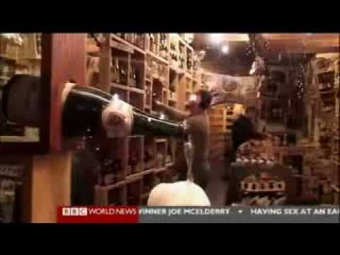 Belgian beer shop Beer Planet is in news at BBC.mp4