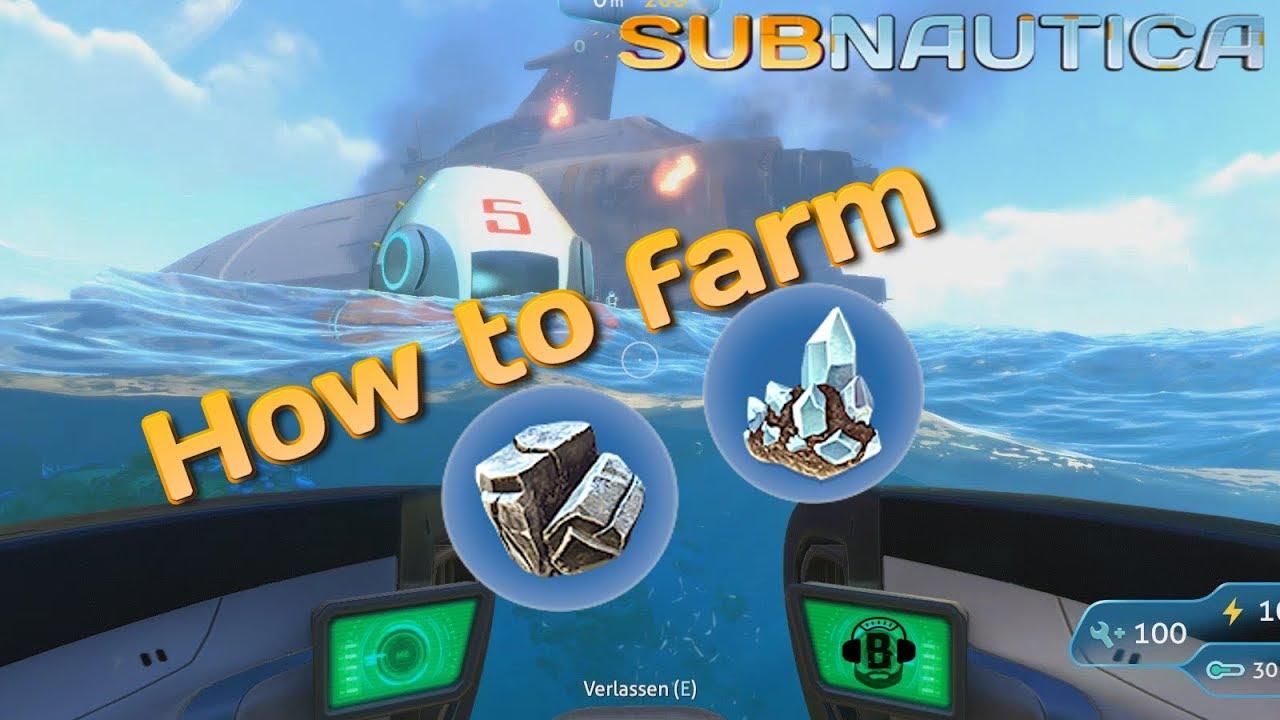 subnautica magnetit farmen