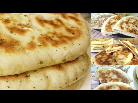 recette-très-facile-de-naan-au-poulet-et-fromage(sans-four)