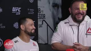 UFC 229: Jussier Formiga Talks Upset Win Over Sergio Pettis