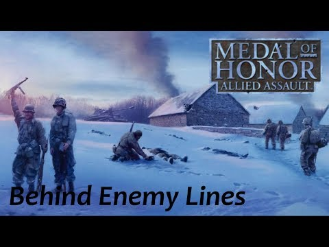 Medal of Honor: Allied Assault Walkthrough - Mission Four - Behind Enemy Lines