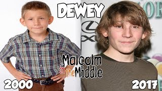 Malcolm In The Middle Then And Now 2017