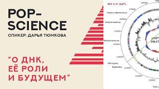 Алфавит из 4 букв - о ДНК, её роли и будущем