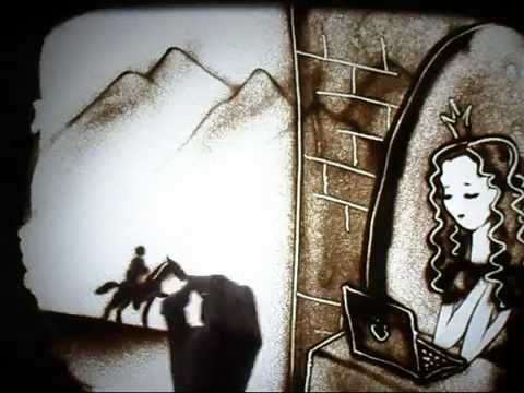 Песочное шоу Сказка sand art by Madi Bekdair