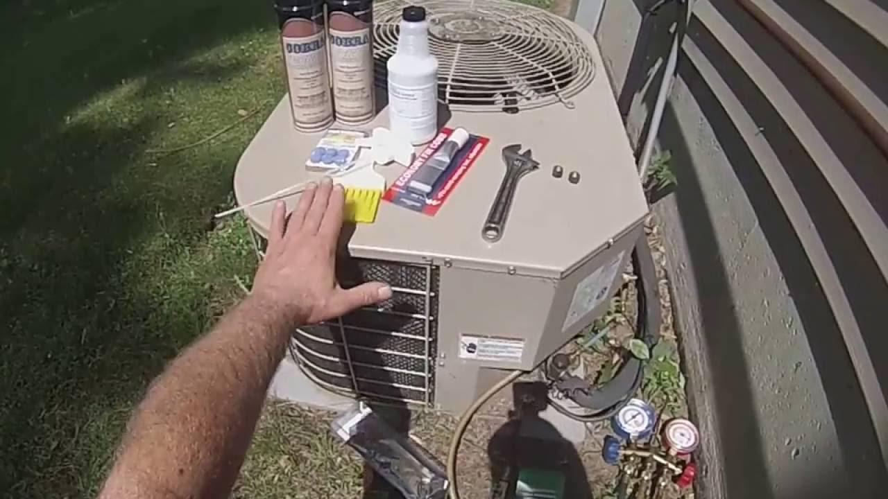 Air Conditioner Leak Repair Youtube