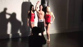 nicky cook wbo champion boxing video