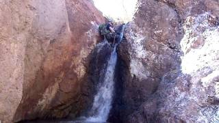 Waterfall in Devil