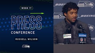 Russell Wilson Postgame Press Conference vs 49ers | 2019 Seattle Seahawks